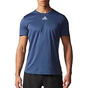 adidas Men's Sequencials Money Short Sleeve Running Shirt