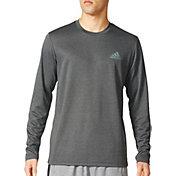 adidas Men's Essential Tech Long Sleeve Shirt