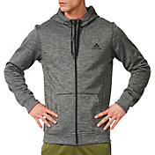 adidas Men's Team Issue Fleece Full Zip Hoodie