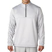 adidas Men's climawarm Textured Dot Half-Zip Golf Pullover