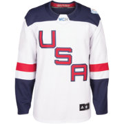 adidas Men's World Cup of Hockey 2016 USA Premier White Jersey