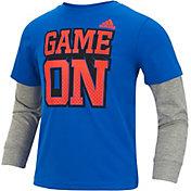 adidas Toddler Boys' Game On Long Sleeve Shirt