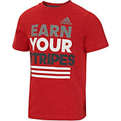 adidas Toddler Boys' Earn Your Stripes T-Shirt