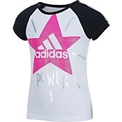 adidas Toddler Girls' Star Power Raglan T-Shirt