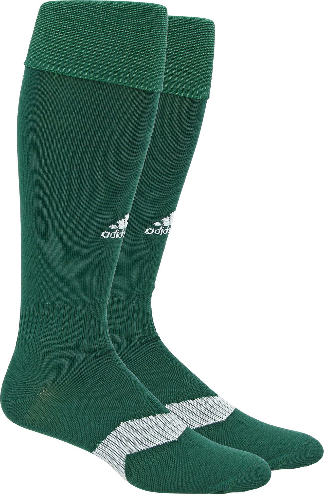 adidas black and green soccer socks