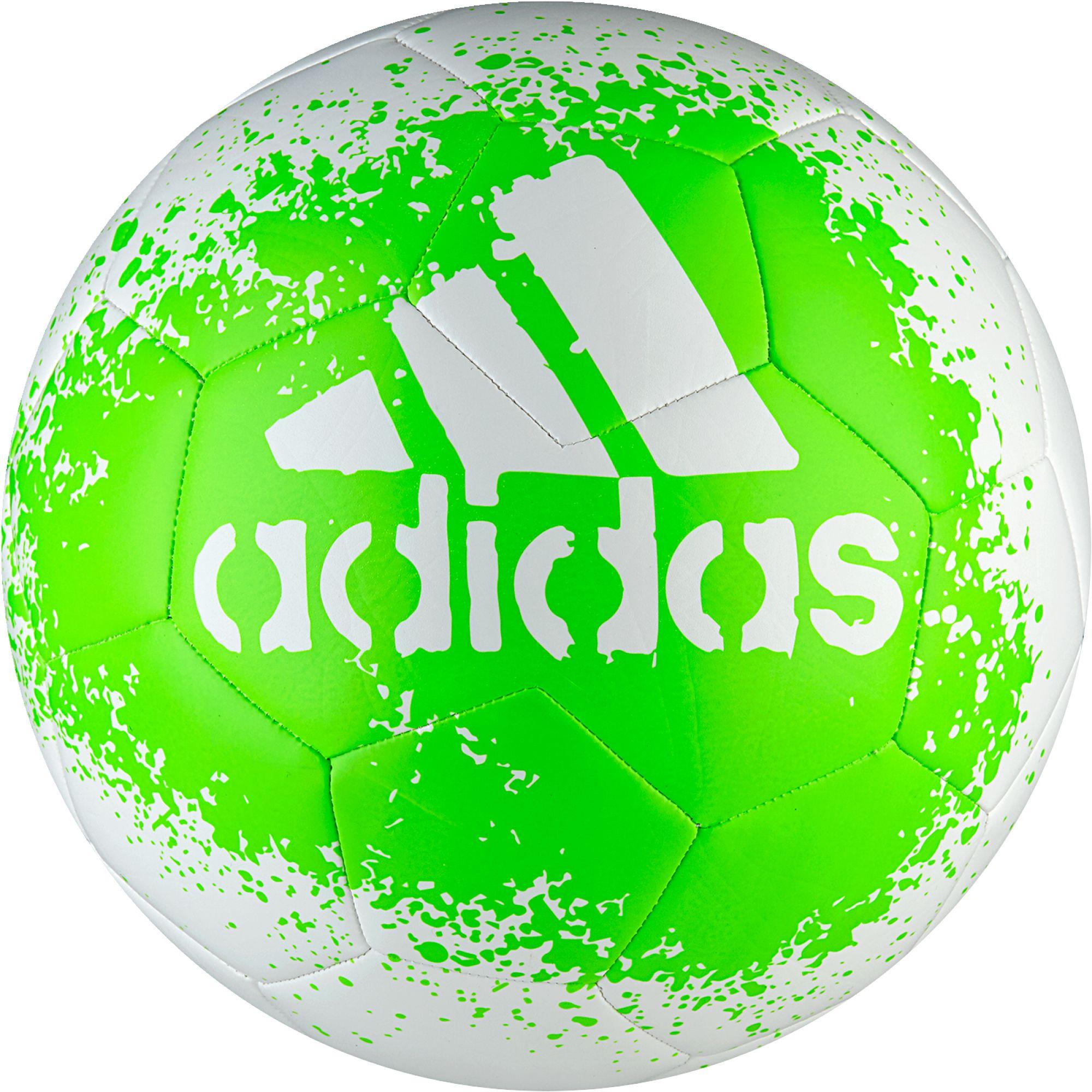 Adidas soccer ball logo