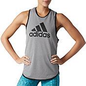 adidas Women's Short Corner Basketball Tank Top