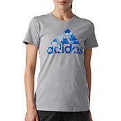 adidas Women's Badge Of Sport Raw Graphic T-Shirt