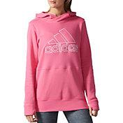 adidas Women's SpeedX Fleece Logo Hoodie
