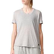 adidas Women's Three-Stripes Boyfriend T-Shirt