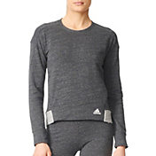 adidas Women's Cotton Fleece Sweatshirt