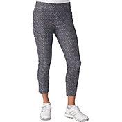 adidas Women's adistar Print Cropped Golf Pants