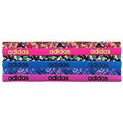 adidas Women's Fighter Graphic Headbands – 6 Pack