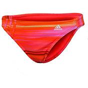 adidas Women's Gradient Stripe Hipster Swimsuit Bottom