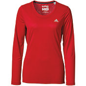 adidas Women's Ultimate Crewneck Long Sleeve Shirt