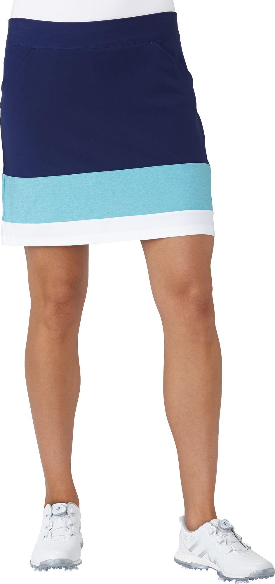 ba5681af9283 adidas Womens Ultimate adistar Colorblock Golf Skort DICKS Sporting ...