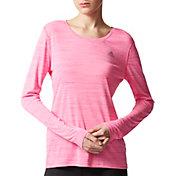 adidas Women's SpeedX Melange Long Sleeve Shirt