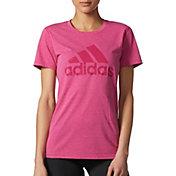 adidas Women's Ultimate 2.0 Crewneck Double Dye T-Shirt