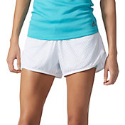 adidas Women's Double Up Two-In-One Mesh Shorts