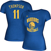 adidas Women's Golden State Warriors Klay Thompson #11 Royal T-Shirt