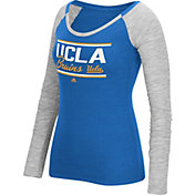 adidas Women's UCLA Bruins True Blue Double Bar Long Sleeve Shirt