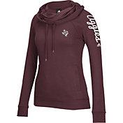 adidas Women's Texas A&M Aggies Maroon Tunnel Neck Long Sleeve Shirt