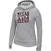 adidas Women's Texas A&M Aggies Grey Modtriax Performance Hoodie