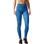 adidas Women's Performer High-Rise Heathered Ikat Tights