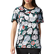 adidas Originals Women's Boyfriend Floral T-Shirt