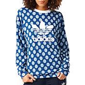 adidas Women's Printed Trefoil Sweatshirt