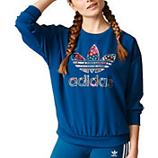 adidas Originals Women's Trefoil Graphic Sweatshirt