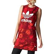adidas Women's Originals Wild and Free Printed Tank Top Dress