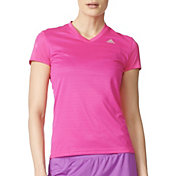 adidas Women's Response Running V-Neck T-Shirt