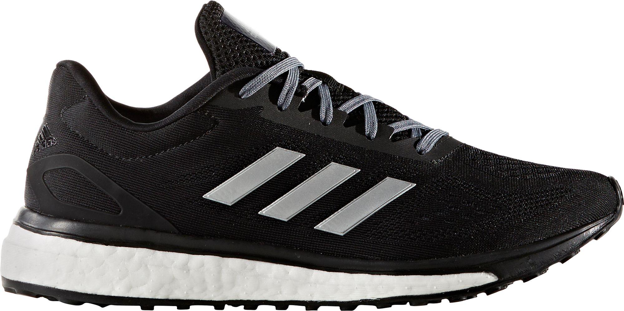 adidas womens running shoes black