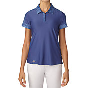 adidas Women's Sport Print Golf Polo