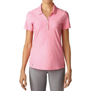adidas Women's Essentials Jacquard Golf Polo