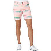 adidas Women's Essentials Printed Golf Shorts