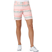 adidas Women's Essentials Printed Golf Shorts