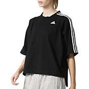 adidas Women's Oversized 3-Stripes T-Shirt