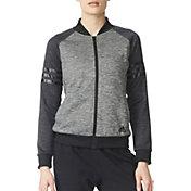adidas Women's Team Issue Fleece Baseball Jacket