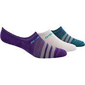 adidas Women's Superlite Super No Show Socks 3 Pack