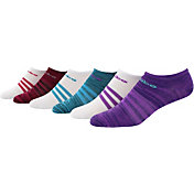 adidas Women's Superlite II No Show Athletic Socks 6 Pack