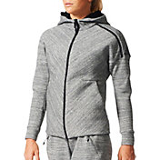 adidas Women's ZNE Travel Zip Up Hoodie
