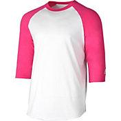 adidas Youth Triple Stripe ¾ Sleeve Baseball Practice Shirt