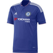 adidas Youth Chelsea 15/16 Royal Home Jersey