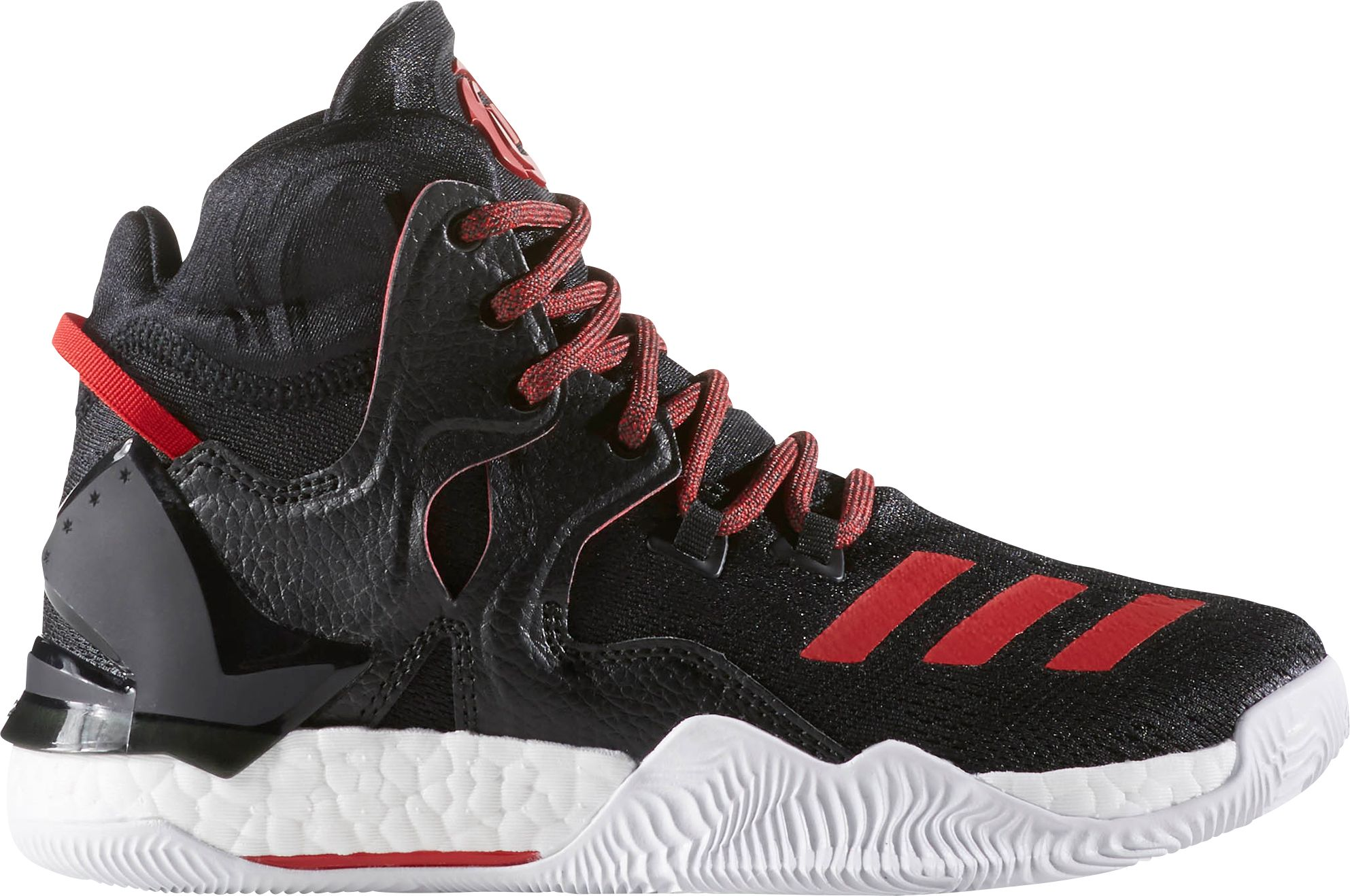 adidas basketball shoes. adidas kids\u0027 grade school d rose 7 boost basketball shoes