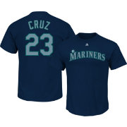 Majestic Youth Seattle Mariners Nelson Cruz #23 Navy T-Shirt
