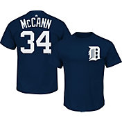 Majestic Youth Detroit Tigers James McCann #34 Navy T-Shirt