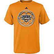 adidas Youth Houston Dynamo Orange Orb T-Shirt