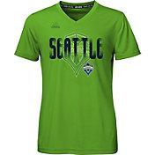 adidas Youth Girls' Seattle Sounders climalite T-Shirt